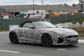 Fotografii spion cu Jaguar F-Type SVR Cabrio ne sunt dezvăluite; iată o galerie completă de imagini