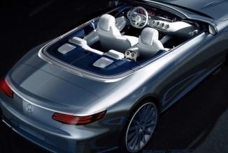 Mercedes oferă un preview pentru noul model S-Class decapotabil