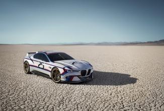 """BMW 3.0 CSL Hommage R este un concept excepţional, care combină o zonă frontală old school, cu un spate """"nervos"""""""