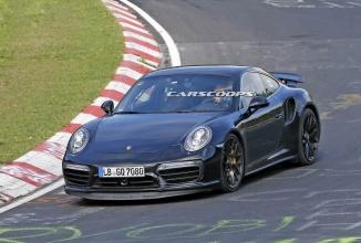 Porsche 911 Turbo S în varianta actualizată ni se prezintă într-o galerie completă de imagini spion