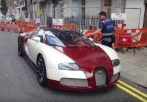 Proprietarul unui Bugatti Veyron primeşte o amendă în Londra; Autorităţile vor să interzică supermaşinile în oraş (Video)