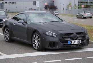 Noul Mercedes SL 63 AMG îşi dezvăluie designul într-o serie de fotografii