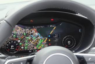 Iată cum arată o plimbare la volanul unui Audi TT 2016 dotat cu tehnologia 'Virtual Cockpit'