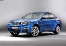 BMW X4 M40i îşi face apariţia în primele imagini oficiale, oferă 360 de cai putere şi modificări faţă de modelele M Sport