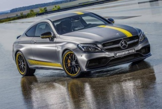 Mercedes-AMG C63 Coupe Edition 1 prezentat oficial, vine cu motor V8 biturbo
