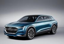 Frankfurt Motor Show 2015: Audi prezintă conceptul electric E-Tron Quattro, un SUV cu muchii ascuțite și autonomie de 500 km