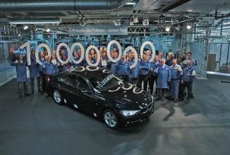 Moment aniversar pentru BMW: 10 milioane de modele sedan Seria 3 au fost produse