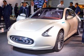 Frankfurt Motor Show 2015: Thunder Power 2017 este un sedan electric care vrea să concureze cu modelele Tesla