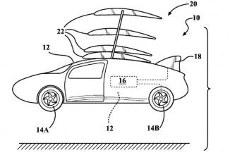 Toyota brevetează tehnologii legate de un posibil automobil zburător