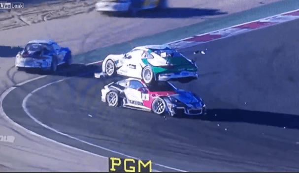porsche racing fail