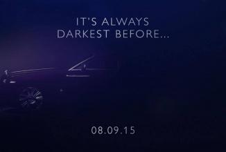 Rolls-Royce Dawn primește un nou teaser înaintea lansării programate pentru astăzi