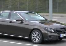 Mercedes E-Class (W213) 2017 îşi face apariţia în câteva clipuri în varianta sedan şi wagon (Video)