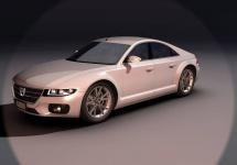 Dacia Logan Lux este conceptul unui designer ce ne arată posibila evoluție a sedanului românesc