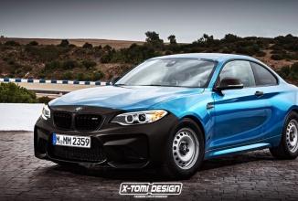 BMW M2 Coupe primeşte o nouă randare în varianta cu dotări standard