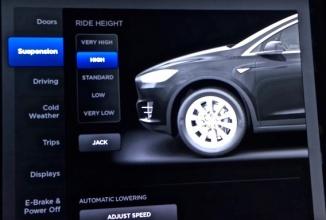 Firmware-ul 7.0 care va sosi pe Tesla Model X aduce funcţie de condus autonom şi control nou asupra portierelor
