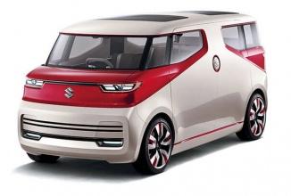 Suzuki Air Triser este un concept de minivan ce nu am mai văzut; iată-l în fotografii oficiale