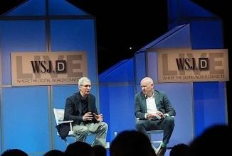 """Tim Cook prezice """"schimbări masive"""" pentru industria auto, în cadrul unui interviu cu Wall Street Journal"""