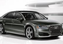 Audi A8 2016 L 4.0T Sport vine cu un motor V8 twin turbo de 450 de cai putere