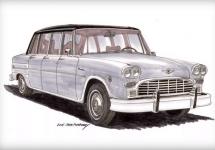 Clasicul taxi Checker revine la viaţă cu două noi designuri: o limuzină şi un pickup sport