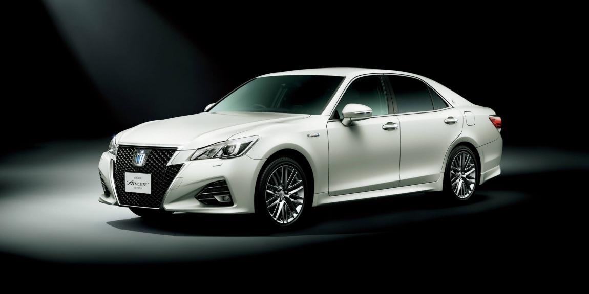 Imagini oficiale Toyota JDM Crown facelift