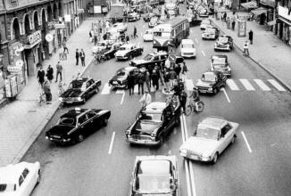 Dagen H, o zi istorică pentru Suedia, care a adus trecerea la sistemul de trafic pe banda dreaptă; Iată un scurt istoric