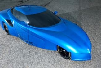Panoz DeltaWing, ar putea ajunge la vânzare într-un viitor apropiat; iată cum arată acest batmobile