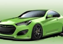 Hyundai Tjin Edition Genesis Coupe este dezvăluit înainte de show-ul SEMA de luna viitoare