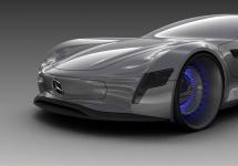 Mercedes-Benz 300SL Gullwing revine în actualitate printr-un concept retro-futurist