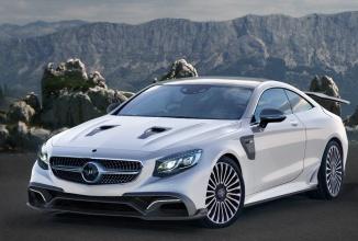 Mansory prezintă varianta tunată de Mercedes-Benz S63 AMG Coupe