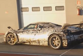 Pagani Huayra S surprins de cameră în cadrul unor teste pe pistă, are un design agresiv (Video)