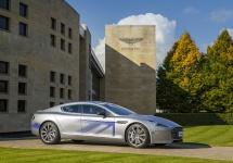 Aston Martin dezvăluie conceptul RapidE în variantă electrică; ar putea sosi la vânzare peste 2 ani