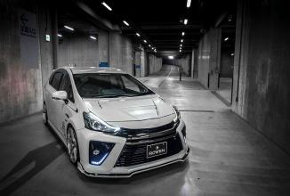 Toyota Prius G primește un bodykit și un sistem de evacuare Heat Blue din partea echipei de tunning Rowen