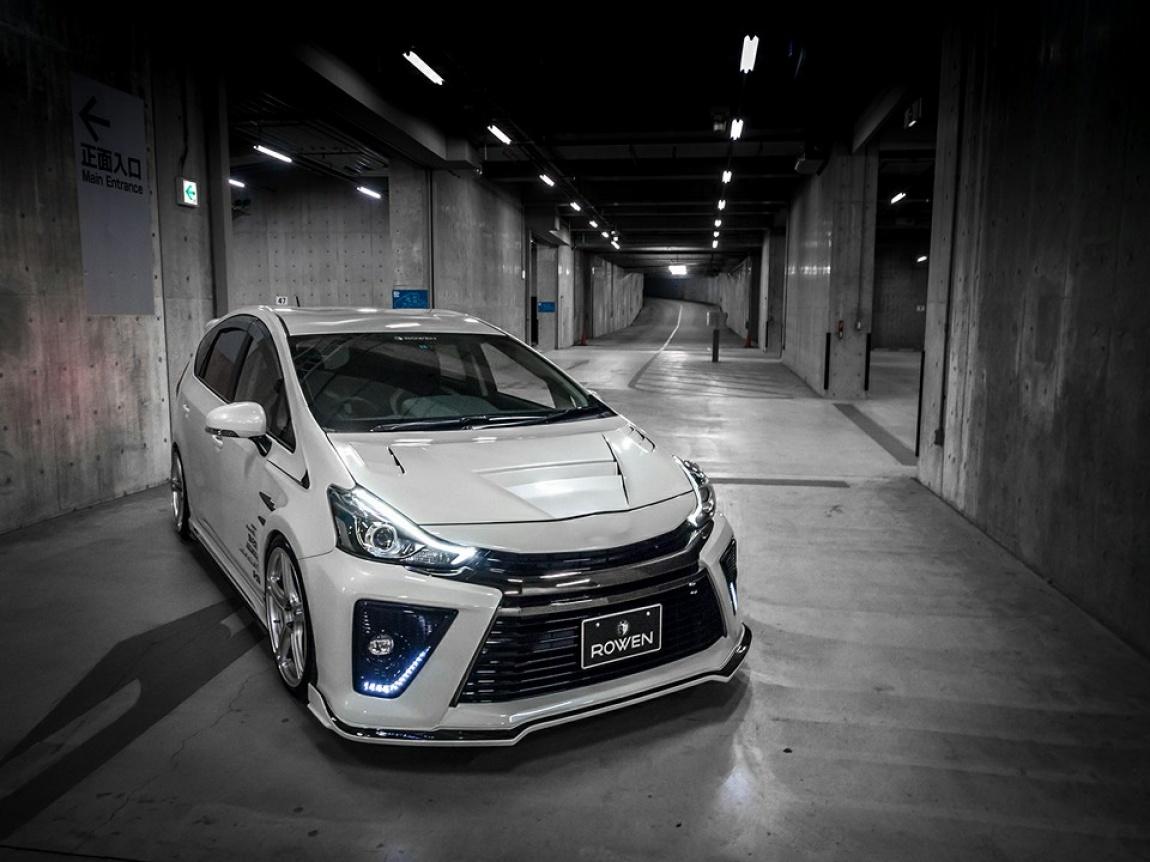 Imagini Toyota Prius G – Tunning