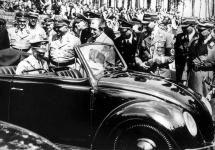 Istoria automobilului; Beetle, primul vehicul Volkswagen construit la ordinul lui Adolf Hitler