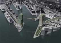 Un pod fascinant este construit în Copenhaga deasupra portului din oraş; Iată cum arată Copenhagen Gate