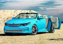 SEMA 2015: Producătorul sud-coreean KIA dezvăluie noul concept cabrio Optima
