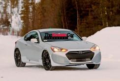 Imagini spion Hyundai Genesis Coupe Twin Turbo