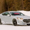 Imagini spion Hyundai Genesis Coupe Twin Turbo