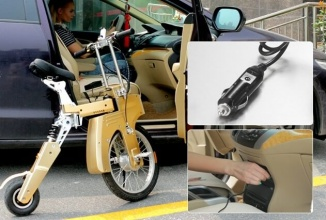 SITGO este prima bicicletă electrică din lume care se încarcă de la automobil; Un proiect interesant pe Kickstarter