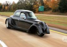 Defiant EV3 este un vehicul electric cu 3 roţi de la Shockwave Motors, face o impresie bună (Video)