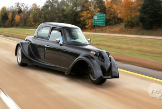 Defiant EV3 este un vehicul electric cu 3 roţi de la Shockwave Motors, face o impresie bună (Video)