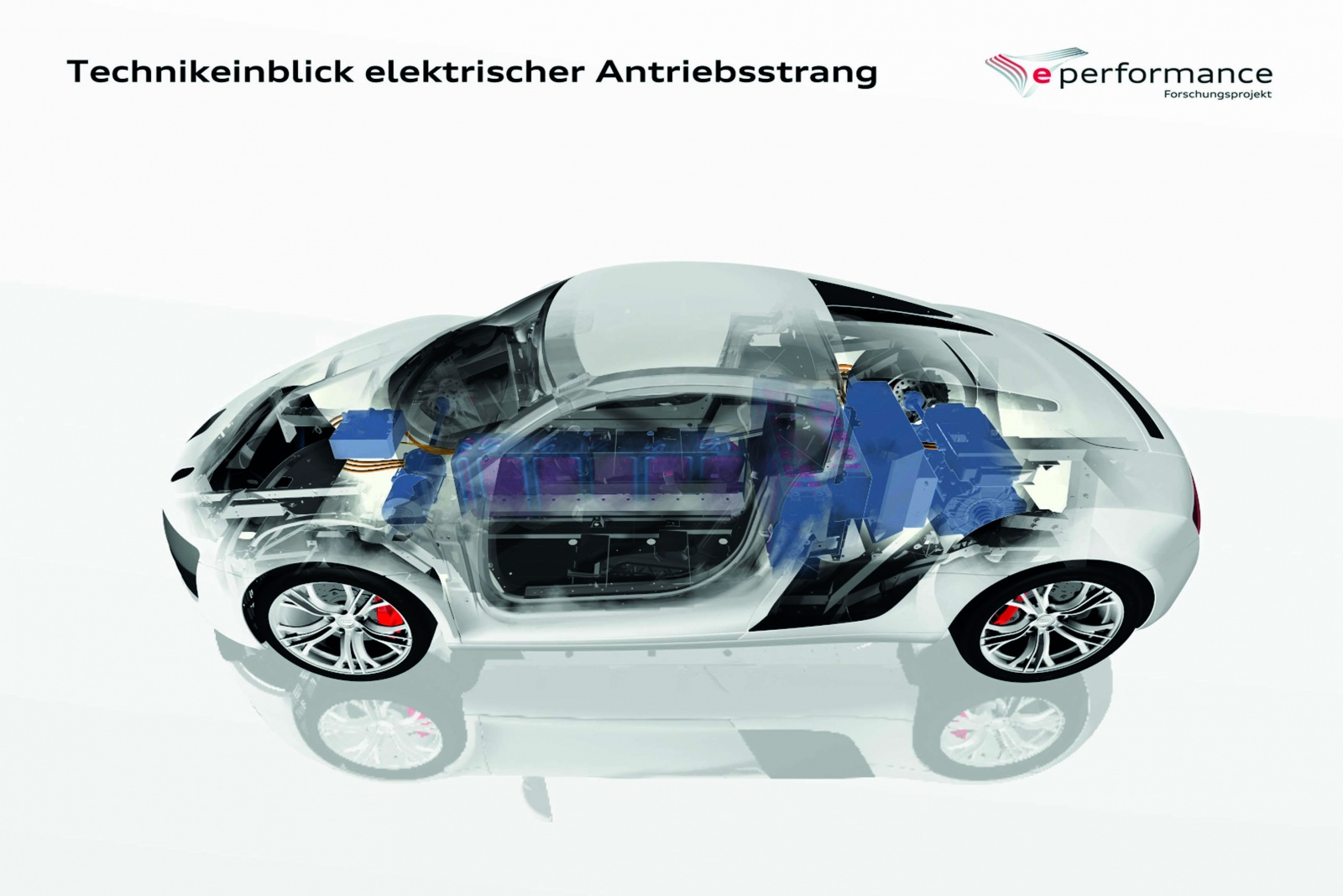 Audi future lab: mobility/e performance Battery system