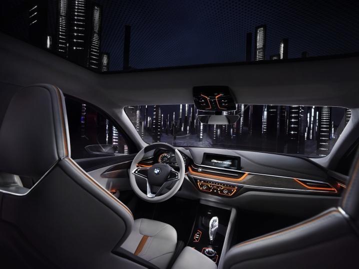 Interior Concept BMW Compact Sedan