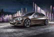 Conceptul BMW Compact Sedan prezentat la showul din China Auto Guangzhou 2015