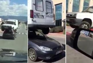 """""""Omul cu scaun la cap"""" devine maşina cu dubiţă pe acoperiş într-un clip ireal (Video)"""