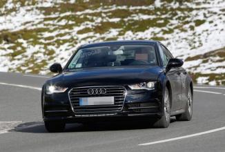 Noua generație Audi A7 se afișează în fotografii spion; design-ul este bazat pe conceptul Prologue