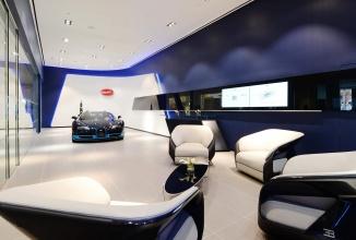 Bugatti lansează un nou concept store în Manhattan şi Miami, cu un design elegant