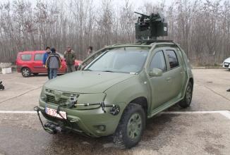 Dacia Duster Army s-ar putea afla în flota de vehicule ale SNS și Industriei de Apărare; oficiali ai Dacia poartă discuții cu Ministerul Economiei