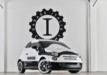 Un Fiat 500 vopsit în culorile unui Stormtrooper din Star Wars face senzaţie la LA Auto Show