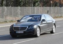 Noul 2016 Mercedes-Benz S-Class în varianta facelift, se dezvăluie în fotografii spion